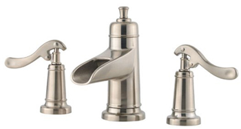 Price Pfister GT49-YP1K Ashfield Collection Widespread Lavatory Faucet - Brushed Nickel