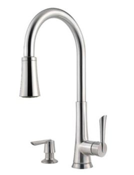 Price Pfister GT529-MDS Mystique Collection Pull Down Kitchen Faucet - Stainless Steel