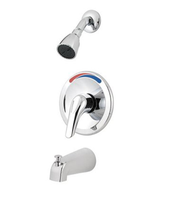 Price Pfister R89-0300 Pfirst Single Control Tub/Shower Trim - Polished Chrome
