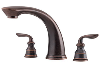 Price Pfister RT6-CBXU Avalon Two Handle Roman Tub Faucet - Rustic Bronze