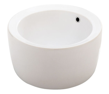 Porcher 15090.00.001 Giro Above Counter Lavatory Basin White