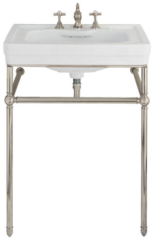 Porcher 21410.00.002 Lutezia Console Stand Only Chrome