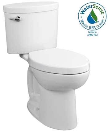 Porcher 40750.28.001 Ovale Toilet Tank Only with Left Hand Trip Lever White