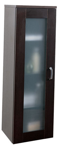 Porcher 89550.00.610 Kyomi Glass Door Side Cabinet - Wenge