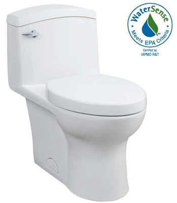 Porcher 97320-28.001 Veneto Elongated High Efficiency One-Piece Toilet - White