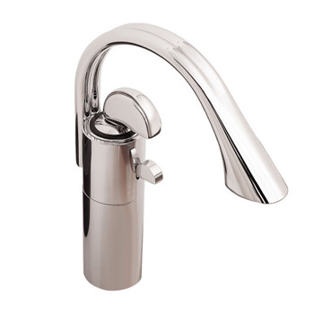 Porcher 5131.501.002 Iperbole Single Handle Lavatory Basin Faucet Chrome