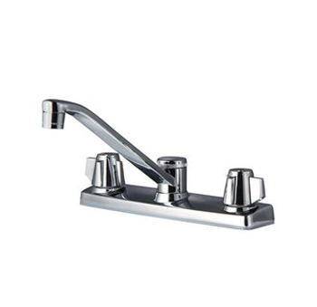 Pfister G135-2000 Pfirst Two Handle Kitchen Faucet Chrome