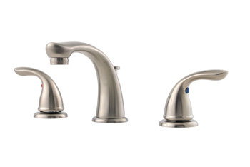 Price Pfister G149-610K Pfirst Two Handle Widespread Lavatory Faucet Brushed Nickel