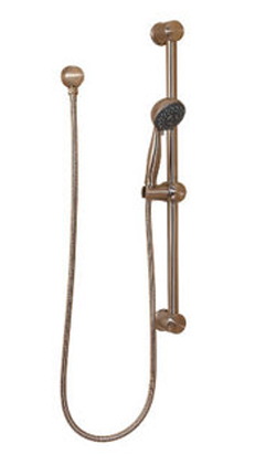 Price Pfister 16-300U Handheld Shower with Slide Bar Package Rustic Bronze
