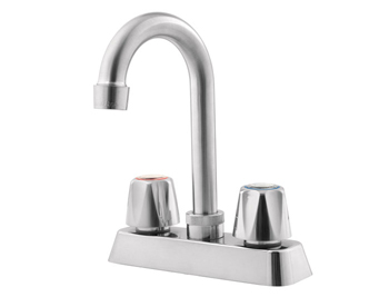 Price Pfister G171-400S Pfirst Two Handle Bar Faucet Stainless Steel