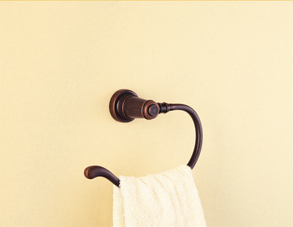 Price Pfister BRB-YP0U Ashfield Open Towel Hook Rustic Bronze