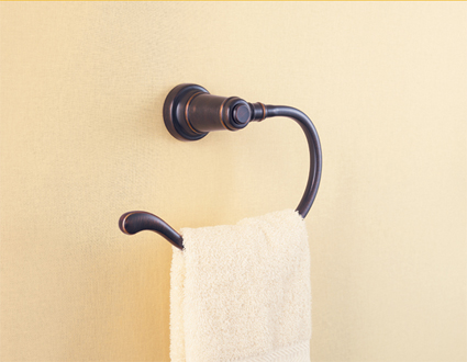 Price Pfister BRB-YP0Y Ashfield Open Towel Hook Tuscan Bronze