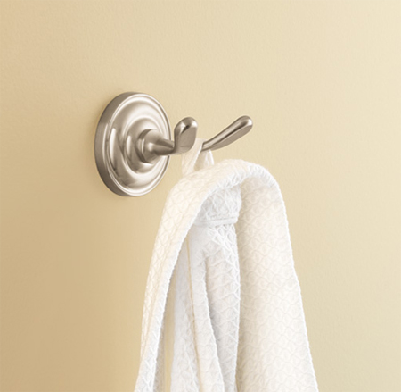 Price Pfister BRH-R0YY Redmond Double Robe Hook Tuscan Bronze (Pictured in Brushed Nickel)