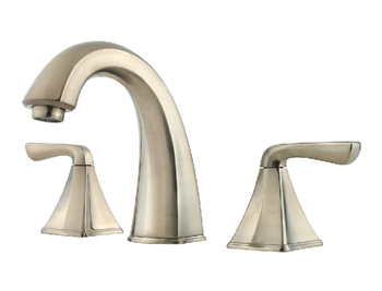 Pfister F-049-SLKK Selia Two Handle Widespread Lavatory Faucet - Brushed Nickel