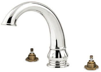Price Pfister RT6-5DXC Treviso Two-Handle Roman Tub Faucet Trim Chrome (Less Handles)