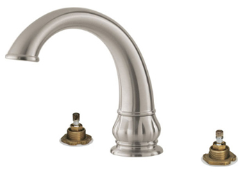 Price Pfister RT6-5DXK Treviso Two-Handle Roman Tub Faucet Trim Brushed Nickel (Less Handles)