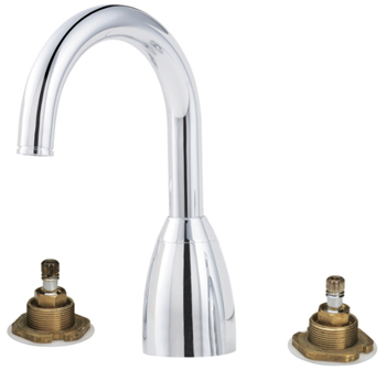 Price Pfister RT6-5NXC Contempra Two-Handle Roman Tub Faucet Trim Chrome (Less Handles)