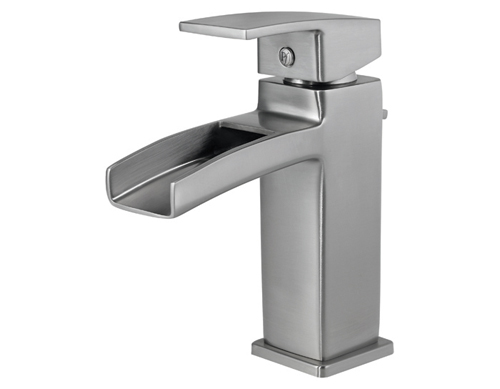 Price Pfister GT42 DF0K Kenzo Single Handle Lavatory Faucet Brushed Nickel    FaucetDepot.com
