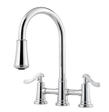 Price Pfister T531-YPC Ashfield Pull-Down Kitchen Faucet - Chrome