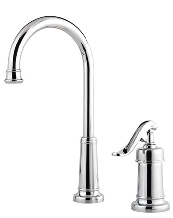 Price Pfister GT72-YP2Y Ashfield Single Handle Bar/Prep Faucet Tuscan Bronze (Pictured in Chrome)