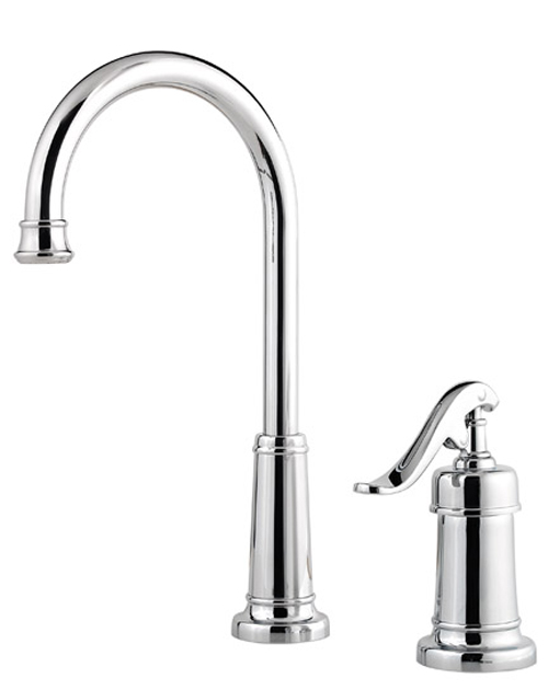 Pfister Gt72 Yp2c Ashfield Single Handle Bar Prep Faucet Chrome