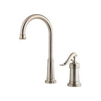 Price Pfister GT72-YP2K Ashfield Single Handle Bar/Prep Faucet Brushed Nickel