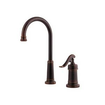 Price Pfister T72-YP2U Ashfield Single Handle Bar/Prep Faucet Rustic Bronze