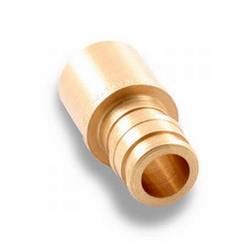 Propex lf4517510 lf brass sweat adapter 3 4 pex x 1 for Pex pipe to copper