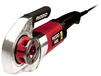 Ridgid 36932 #600 220V NPT Power Drive Threader with Case and Support Arm