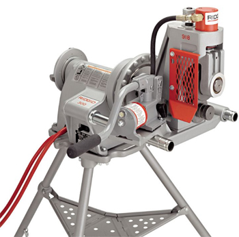 Ridgid 48297 918 1 Hydraulic Roll Grooving Machine With