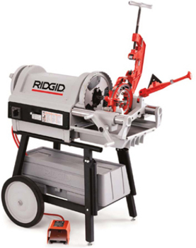 Ridgid 26127 #1224 120V 60 Hz Threading Machine with Foot Switch (BSPT)