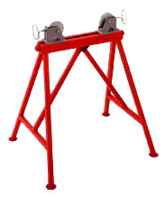 Ridgid 64642 #AR-99 Adjustable Roller Stand with Steel Wheels
