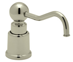 Rohl LS650CSTN Country Soap/Lotion Dispenser - Satin Nickel