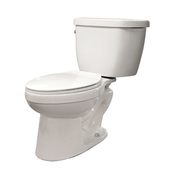 Schon N2310 1.0GPF Pressure-Assist Elongated Toilet Combo White