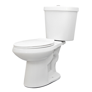 Schon N2316 1.1/1.6GPF Dual Flush Elongated Toilet Combo White
