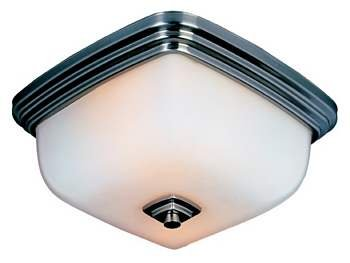 Belle Foret BF857288 Bath Lighting Ceiling Mount Light - Oil Rubbed Bronze (Pictured in Polished Chrome)