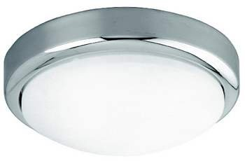 Belle Foret BF930208 Bath Lighting Small Ceiling Mount - Polished Chrome