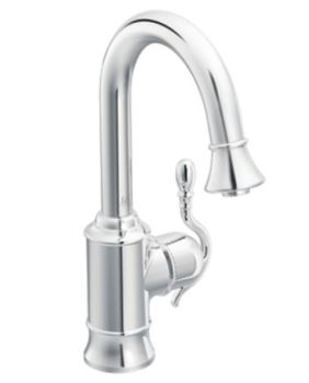 Moen Showhouse S6208C Woodmere Kitchen  Single Handle Pulldown Faucet - Chrome