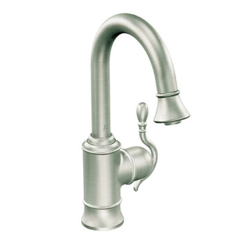 Moen Showhouse S6208CSL Woodmere Kitchen Single Handle Pulldown Faucet - Classic Stainless
