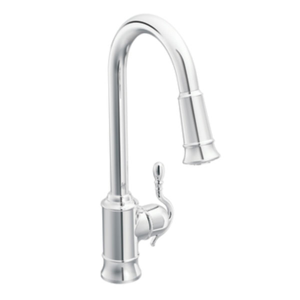 Moen Showhouse Kitchen Faucets: Moen Showhouse S7208C Woodmere Single Handle/Hole High Arc