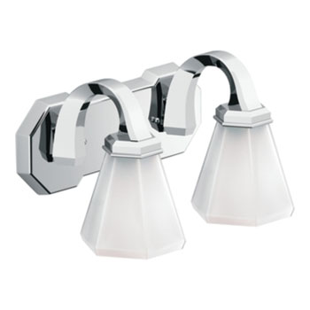 Moen Showhouse YB9762CH Felicity 2 Light Bathroom Fixture - Chrome