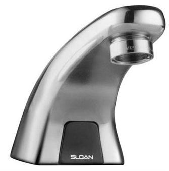 Sloan EBF-615-4 Optima Plus Battery Powered Bathroom Faucet (3315114) - Chrome