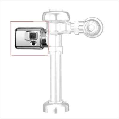 Sloan EBV-89A-M Optima Retrofit Side Mount Operater Flush Valve (0325105) - Chrome
