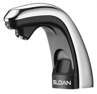 Sloan ESD-250 Optima Electronic Battery Powered Soap Dispenser (3346050) - Chrome