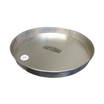 19 Quot Aluminum Water Heater Pan With Bottom Drain