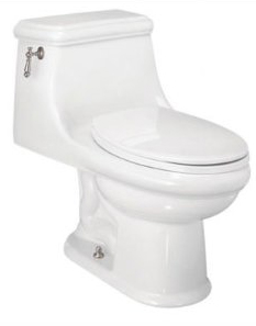 St. Thomas Creations 6131.128.01 Celebration 1-Piece Chair Height Elongated Toilet - White