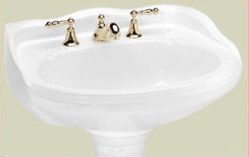St Thomas Creations 5120.082.01 Arlington Grande Pedestal Sink Basin - White