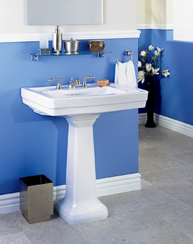 St. Thomas Creations 5122.331.01 Neo-Venetian Pedestal Sink - White