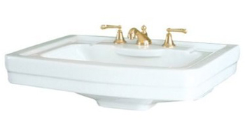 St. Thomas Creations 5124.082.01 Vitreous China Lavatory Sink - White