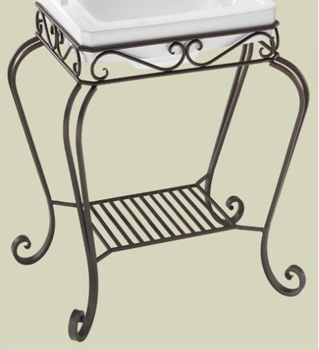St. Thomas Creations 5125.431.97 Orleans Console Stand - Oil Rubbed Bronze